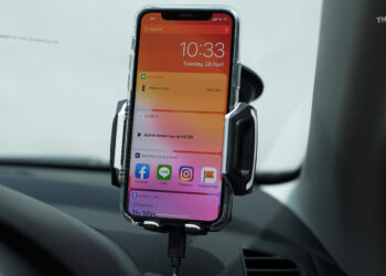 รีวิว CHOETECH Wireless Car Charging Holder แท่นยึดมือถือในรถ ชาร์จไร้สายเร็ว Qi 10W / 7.5W