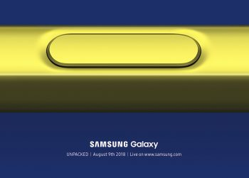 Samsung Galaxy Unpacked 2018 Galaxy Note 9