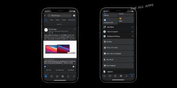 วิธีเปิดใช้งาน Dark Mode หรือโหมดสีเข้ม ของ Facebook บน iOS