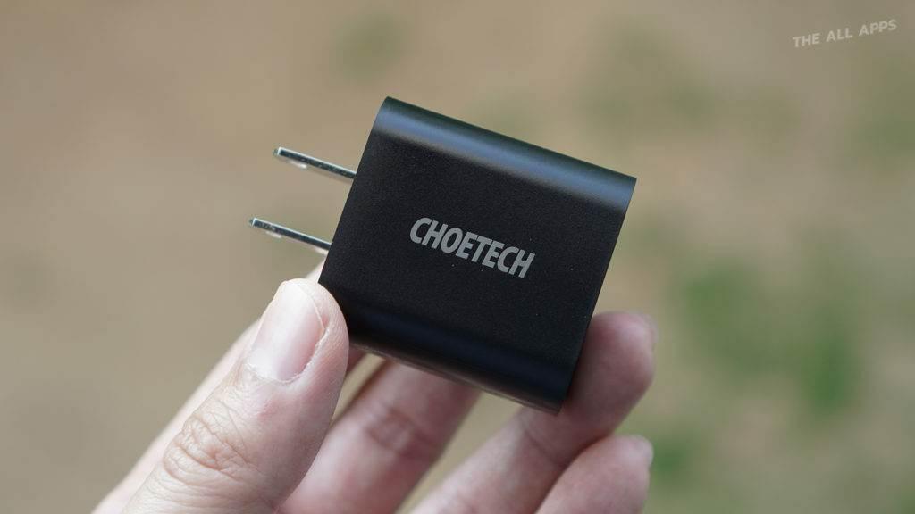 CHOETECH PD 18W พอร์ต USB-C ที่ชาร์จเร็ว iPhone 11 iPhone SE