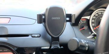รีวิว CHOETECH Wireless Charger Car Mount แท่นชาร์จไร้สายในรถยนต์