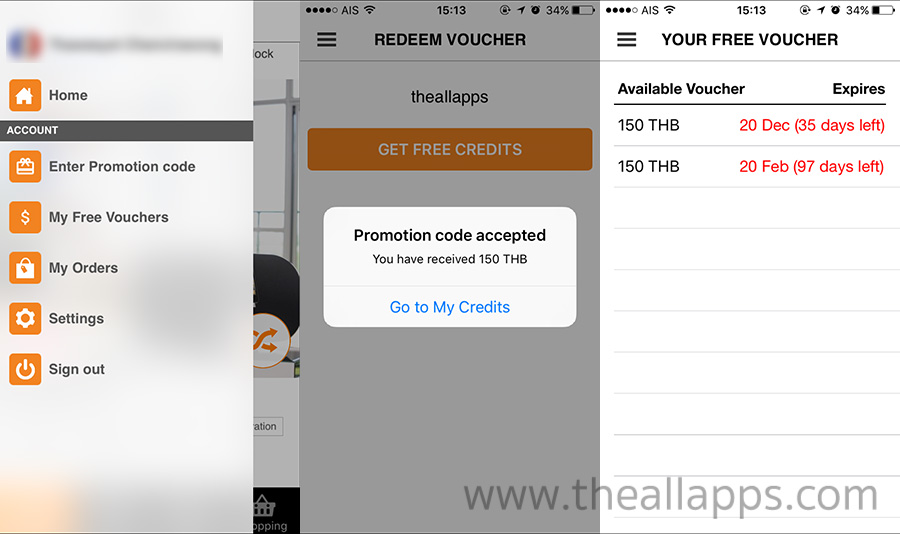 Enter-Promotion-Code-The-All-Apps