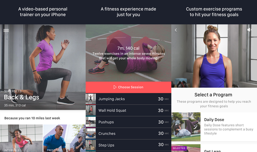 FitStar Personal Trainer