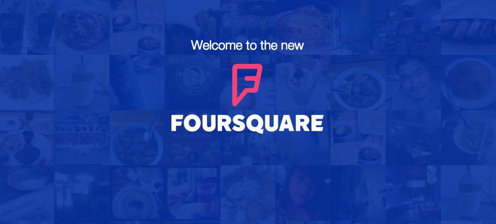 Foursquare welcome