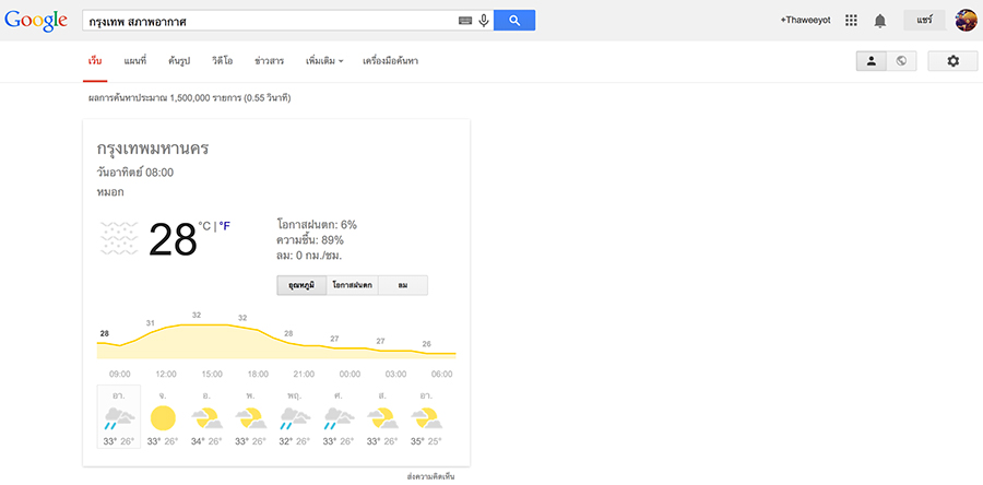 Google-Weather-Bangkok