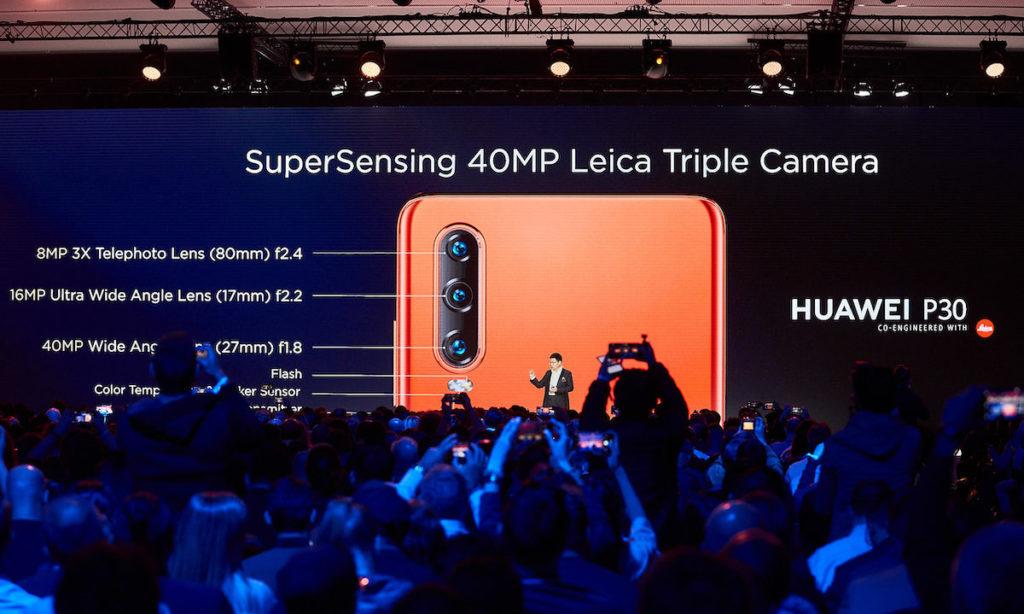เปิดตัวอย่างเป็นทางการแล้ว สำหรับคาเมร่าสมาร์ทโฟน HUAWEI P30 Pro และ Huawei P30 ในงานเปิดตัวผลิตภัณฑ์ ณ Paris Convention Center