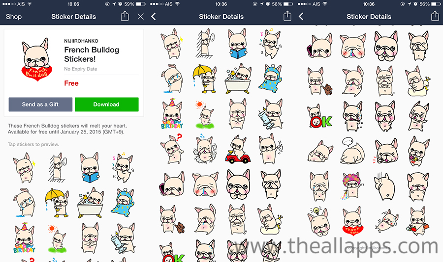 LINE-French-Bulldog-Stickers-1