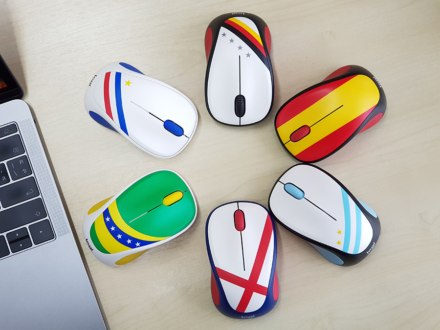 Logitech Fan Collection Wireless Mouse