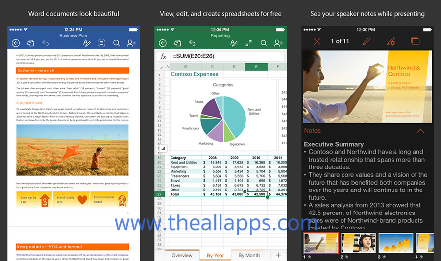 Microsoft-Office-iPhone-iPad-iOS-Thailand