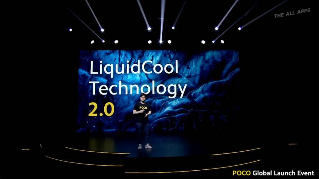 LiquidCool Technology 2.0 ที่มีขนาดที่ใหญ่กว่าเดิม และยังใหญ่กว่าสมาร์ทโฟนระดับแฟล็กชิปแบรนด์อื่นๆ อีกด้วย
