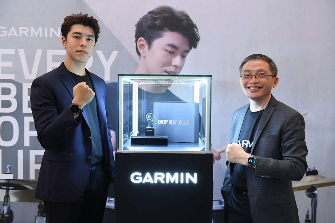 """GARMIN เปิดตัว """"นาย-ณภัทร"""" ไลฟ์สไตล์พรีเซนเตอร์คนแรกของไทย"""