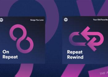 Spotify เปิดตัวสองเพลย์ลิสต์ใหม่ อย่าง On Repeat (เล่นซ้ำวนไป) และ Repeat Rewind (ย้อนหลังไปฟังเพลงโปรด) ที่รวบรวมเพลงที่คุณชอบ และฟังบ่อยไว้ให้อย่างครบครัน