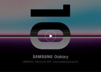 ช่องทางรับชมการเปิดตัว Samsung Galaxy S10 ในงาน Samsung Galaxy UNPACKED 2019