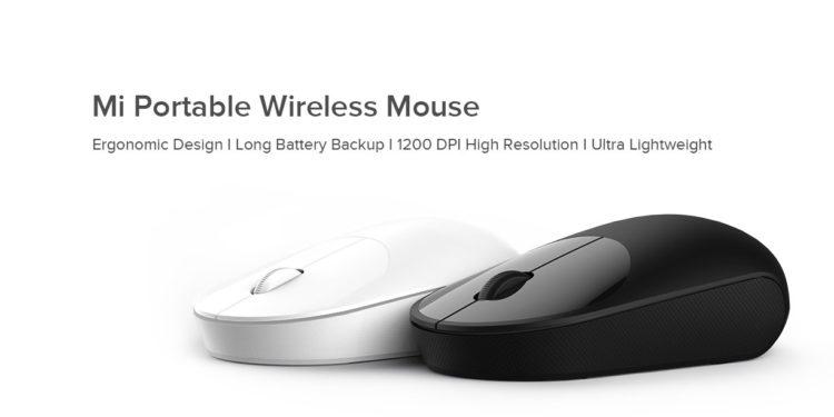 Mi Portable Wireless Mouse เม้าส์ไร้สายรุ่นใหม่ ใช้ถ่าน AA 1 ก้อน ใช้ได้นาน 1 ปี