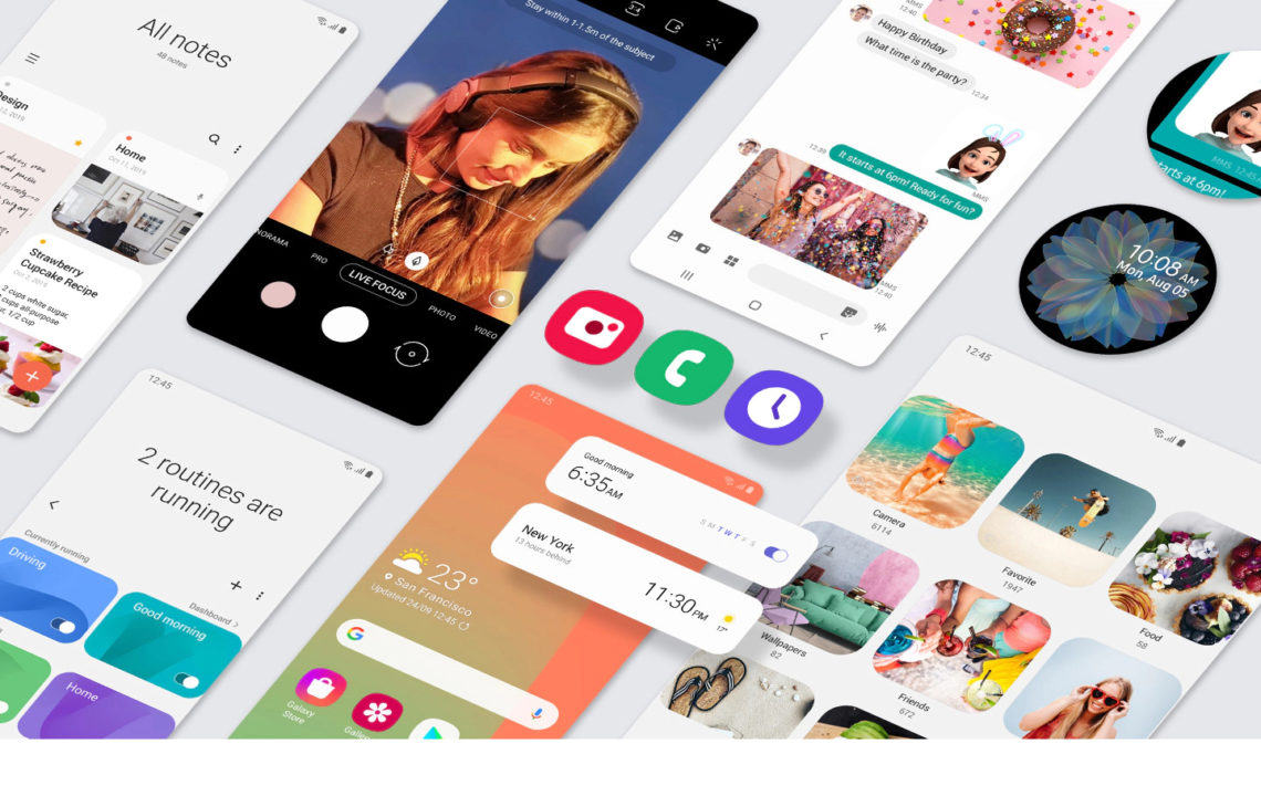 Samsung Galaxy One UI 2 Android 10