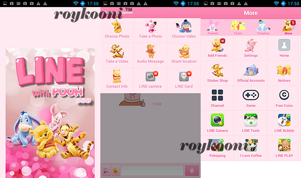 theme-line-android-pooh