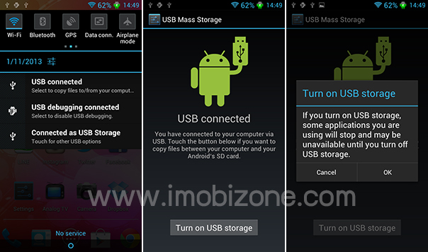how to turn off usb storage on android